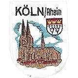 AUFNÄHER - KÖLN/Rhein - Gr. ca. 7cm x 9cm (04007) Region Landeswappen Städtewappen - Stick Patches Applikation