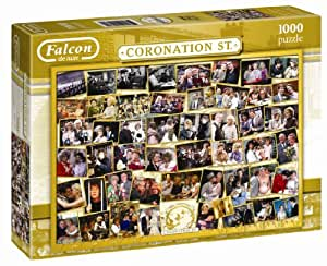 Falcon De Luxe -  Coronation Street 50th Anniversary 1000 Piece Jigsaw Puzzle