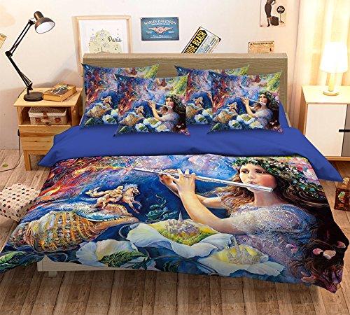3D Malerei Beauty Girl Fantasy 111Betten Kopfkissen, Steppdecke Bettbezug Set Einzel Queen King   3D-Foto Bettwäsche, AJ Tapete UK Sieben