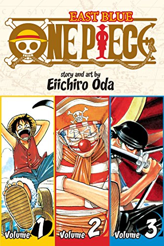 One Piece (3-in-1 Edition) Volume 1 (One Piece (Omnibus Edition))