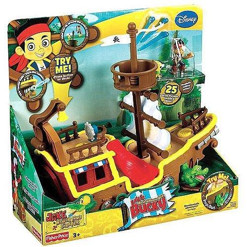 Piratenmusikboot Bucky. Jake und die Piraten (Jake Der Pirat-figuren)
