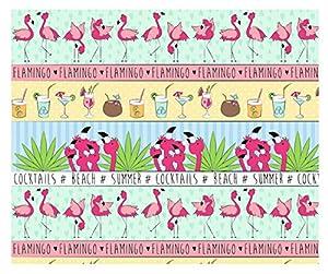 Ursus 11614601Cartulina Flamingo, 300g/m², DIN A4, 10Hojas, Color Verde