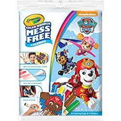 Crayola Paw Patrol Wonder Colouring Pad and Markers Set, Multi-Colour