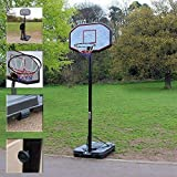 Best Portable Basketball Hoops - Professional Full Size Basketball Hoop with Backboard Review
