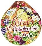 Lutzi's Mondkalender rund 2018 - Andrea Lutzenberger, Marie L. Viriot
