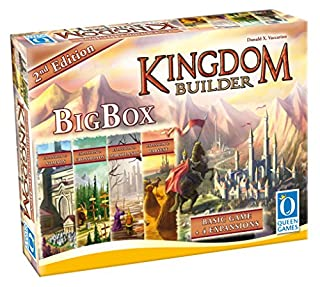 Queen Games 10363 - Kingdom Builder Big Box 2nd Edition - Basisspiel mit allen Erweiterungen und Queenies (B06XHNZNF3) | Amazon Products
