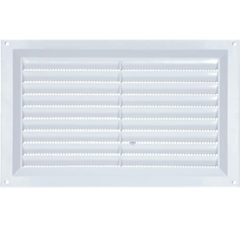 Cupboard Vents Fridge Vent Louvred Wall Vent Grille,Black YQ 2 Pieces Air Vent Grille Cover