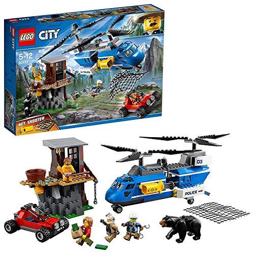 LEGO City 60173 - Bergpolizei Festnahme in den Bergen, Kinderspielzeug -