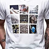 COPA Football - Buenos Aires Futbol V-Neck T-Shirt - Weiss