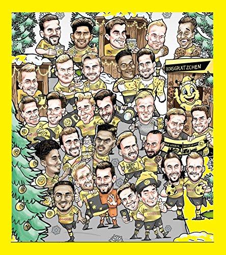 BVB Adventskalender 2017 - Borussia Dortmund Adventskalender, BVB Weihnachtskalender XXL
