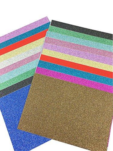 misscrafts-pack-of-20-sheets-10-x-15cm-self-adhesive-gemstone-metallic-glitter-art-sign-vinyl-sticke