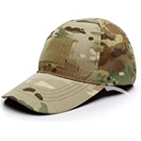 Baseball Cap Camo,Tactical Hat Unisex Army Military Camouflage Cap Men Women Multicam Style Caps for Hunting Fishing…