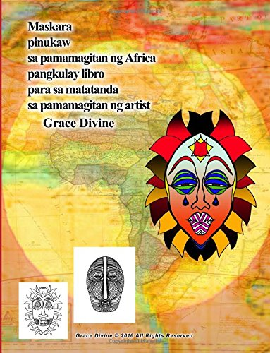 maskara-pinukaw-sa-pamamagitan-ng-africa-pangkulay-libro-para-sa-matatanda-sa-pamamagitan-ng-artist-