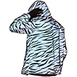 NewL Reflective Light Jacket Men Women Mesh Style Noctilucent Zebra Jackets Waterproof