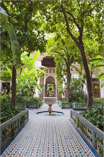 alu-dibond-60-x-90-cm-el-bahia-palace-courtyard-marrakech-marrakesh-morocco-north-africa-africa-de-m