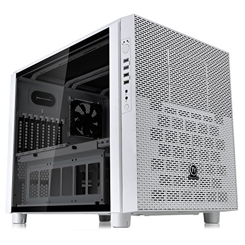 Thermaltake Core X5 TG Snow Case per PC, Bianco