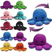 Samaaya Reversible Octopus Mini Plush Assorted Size 7 cm- 1piece