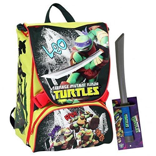 Giochi preziosi - turtles zaino estensibile multi con super gadget
