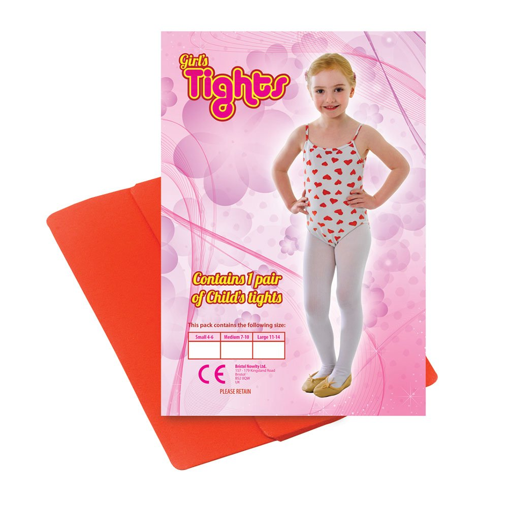 Childs Tights Red 11/14 Large