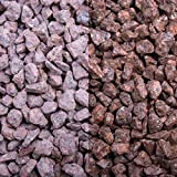 Roter Porphyr, 8-11er Korn, Edelsplitte von GSH - 20 kg/Sack