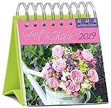 Gartenglück - Kalender 2019 - Korsch-Verlag - Aufstellkalender - Wochen-Postkartenkalender - 17 x 16 cm