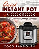 Best Pressure Cooker Recipes - Quick Instant Pot Cookbook: Simple Delicious 5-Ingredient or Review