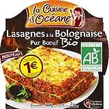 La Cuisine D'océane - Lasagnes À La Bolognaise Pur Boeuf, Bio - (Prix Par Unité ) - Produit Bio Agrée Par AB