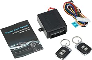 Kkmoon Car Central Locking System With Key Remote Control Entry System Without Key Kit Universal With 2 Folding Keys Auto