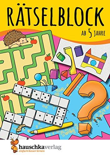 hre, Band 1: Kunterbunter Rätselspaß: Labyrinthe, Fehler finden, Suchbilder, Sudokus u.v.m. (Rätseln, knobeln, logisches Denken, Band 630) ()