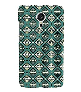 Fuson Plastic Printed Colorful Car Pattern Back Case Cover for Meizu MX5-D9673