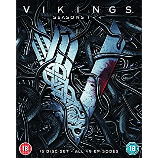 Vikings - Seasons 1-4 [Blu-ray] [2017]