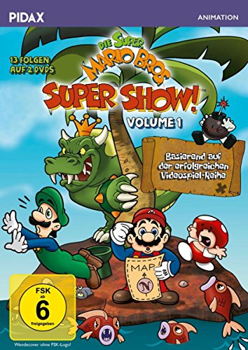 Die Super Mario Bros. Super Show!, Vol. 1 / 13 Folgen mit dem berühmten Videospiel-Duo + 4 Bonusepisoden (Pidax Animation) [2 DVDs] -