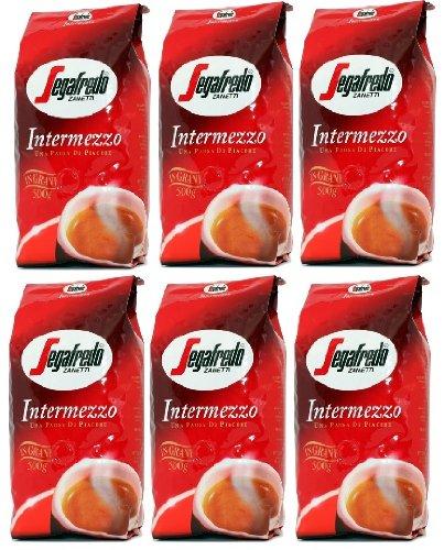 Segafredo Intermezzo Bohnen 6x1 Kg