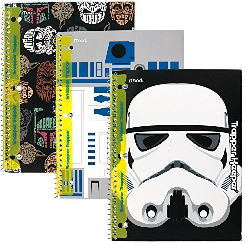 star-wars-trapper-keeper-notebooks-with-snapper-trapper-by-mead-1-subject-wide-ruled-3-pack-73499-by