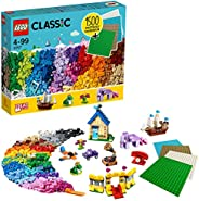 LEGO Classic 11717 Bricks Bricks Plates, Build Your Own Creative Toys, Kids Building Kit