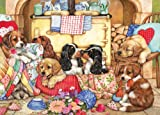 Gibsons Puppies Will Be Puppies Jigsaw Puzzle (500xl-Piece)