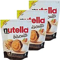 Nutella Biscuits 3 confezioni da 304g - Un delizioso biscotto croccante con tutta la cremosità e il gusto unico di...