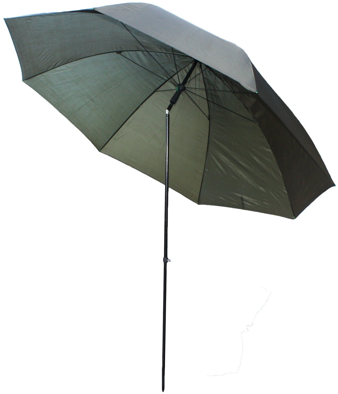 "Michigan Fishing Umbrella with Top Tilt and Sides Brolly Shelter with FREE Carry Bag, Olive Green, 50"", 60"", 75"" or 86"""