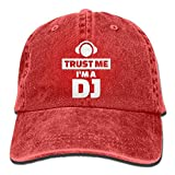 Aoliaoyudonggha Trust Me I'm The DJ Cotton Adjustable Jeans Cap Baseball Cap ForAdult
