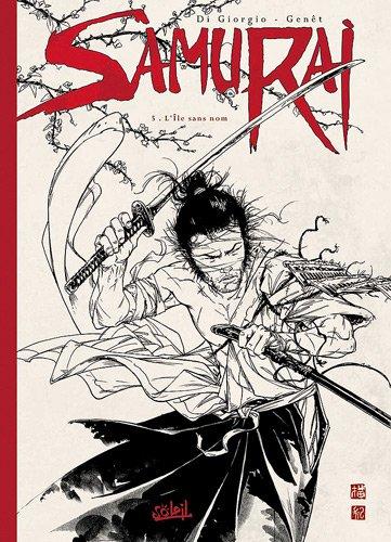 Samurai, Tome 5 : L'île sans nom