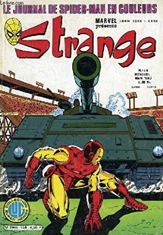 Strange N 159 - Le journal de spider-man en couleurs -