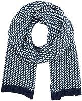 Hilfiger Denim Damen Schal Chunky Denim Scarf, Blau (Blue Mix 902), One size (Herstellergröße: OS)
