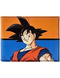 Cartera de Dragon Ball Z Goku Luchador Guerrero Azul
