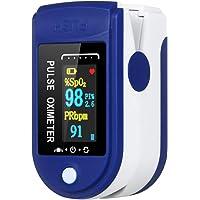 Doneioe Saturazione di Ossigeno nel Sangue e rilevamento della frequenza cardiaca, misurazione Rapida di 10 Secondi e…
