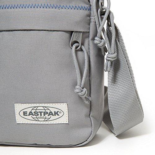 Eastpak The One Umhängetasche, 21 cm  Black Denim Grey Stitched