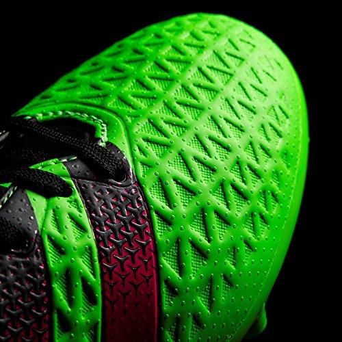 adidas Ace 16.3 Fg/Ag J, Chaussures de Football Mixte Bébé Vert