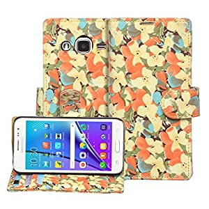 Stardiamond Flip Wallet ID Case Cover For Micromax Canvas 4 A210