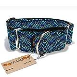 CandyPet Baumwolle Halsband für Hunde Triangle Martingal 5cm (30-50cm)