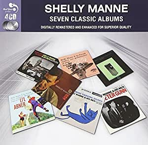 7 Classic Albums [Audio CD] Shelly Manne