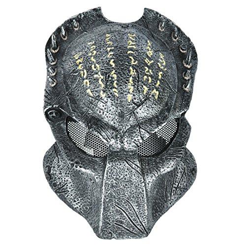 Edel Predator Wolf BIO Paintball Airsoft Cosplay Maske Schutzmaske Schutzhelm